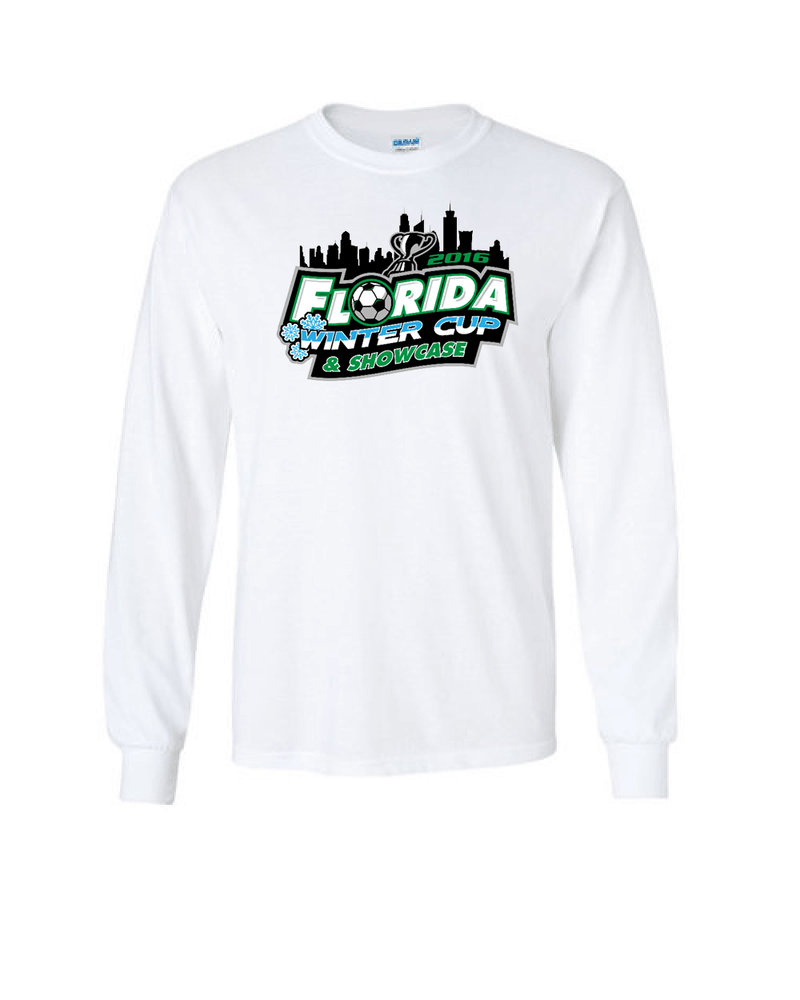White Long-Sleeve Shirt Florida Winter Cup