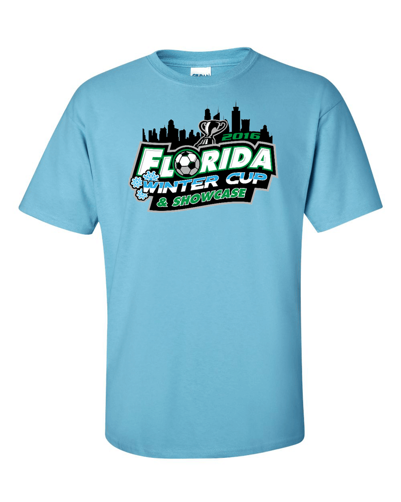 Sky Blue T-Shirt Florida Winter Cup