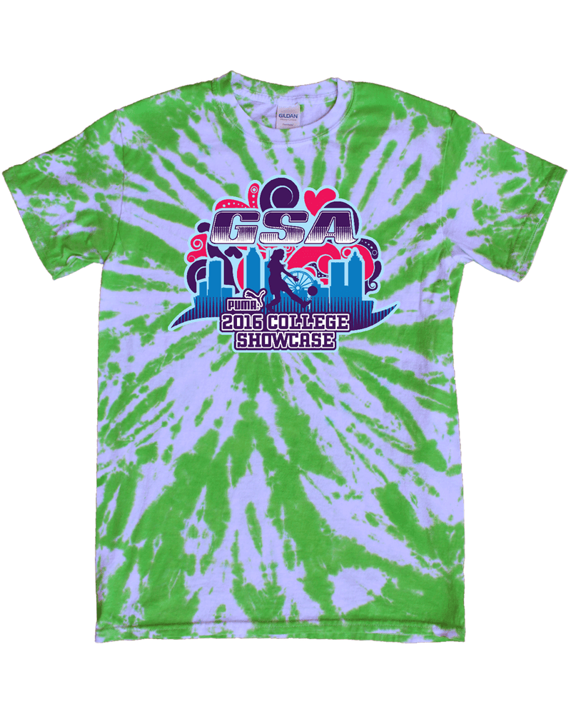 Green Tie-Dye T-Shirt GSA College Showcase