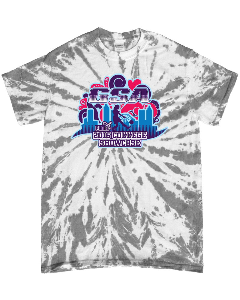 Grey Tie-Dye T-Shirt GSA College Showcase