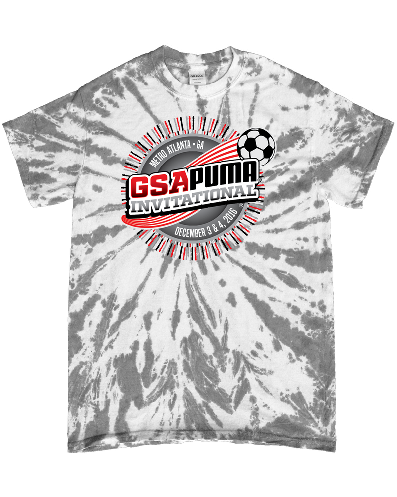 Grey Tie-Dye T-Shirt GSA Invitational