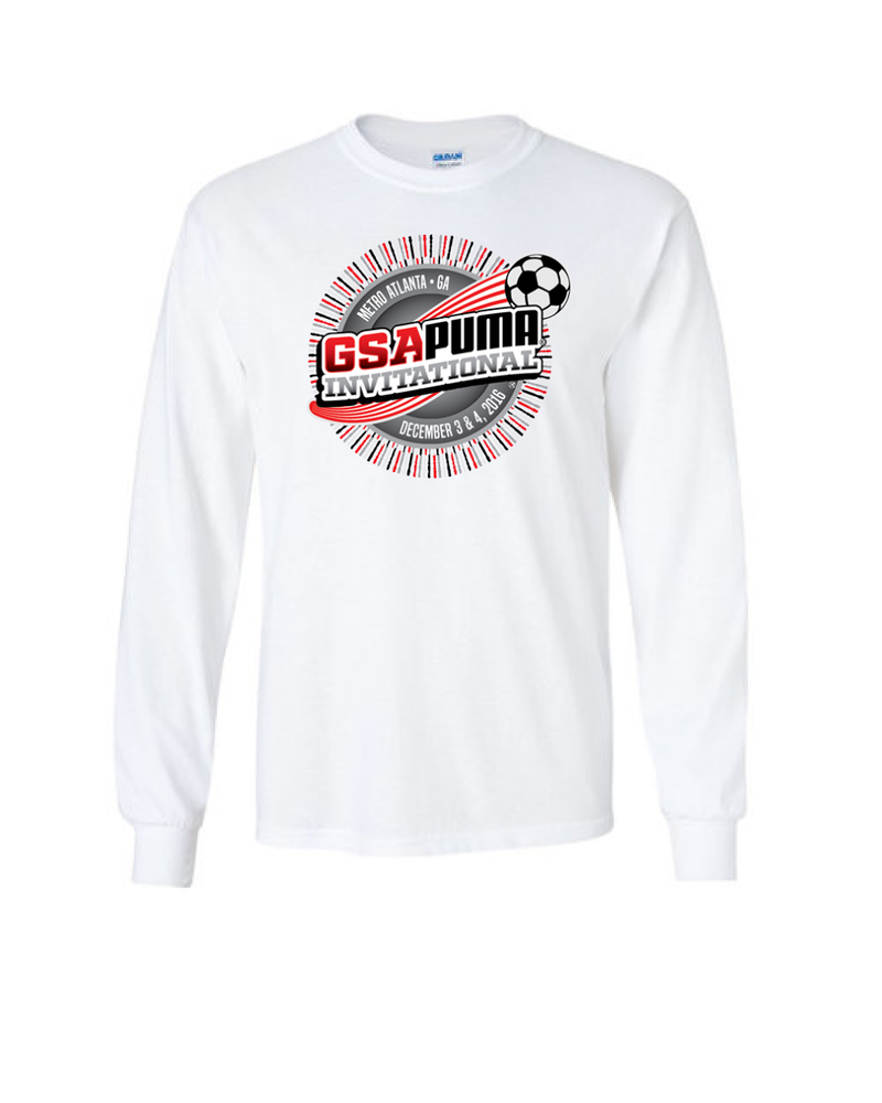 White Long-Sleeve Shirt GSA Invitational