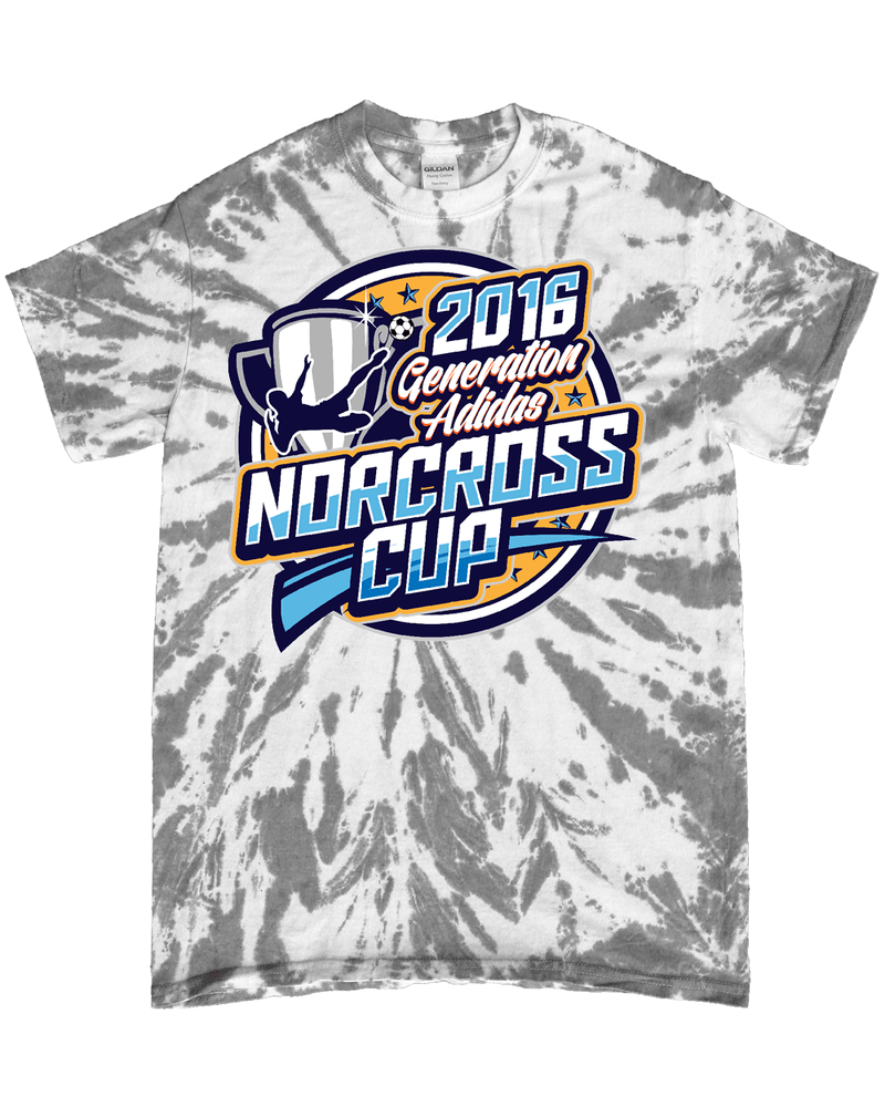 Grey Tie-Dye T-Shirt Generation Norcoss Cup