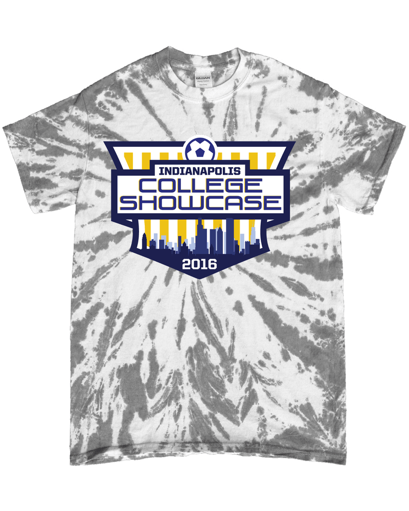 Grey Tie-Dye T-Shirt IND College Showcase