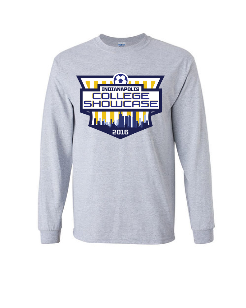 Grey Long-Sleeve Shirt IND College Showcase