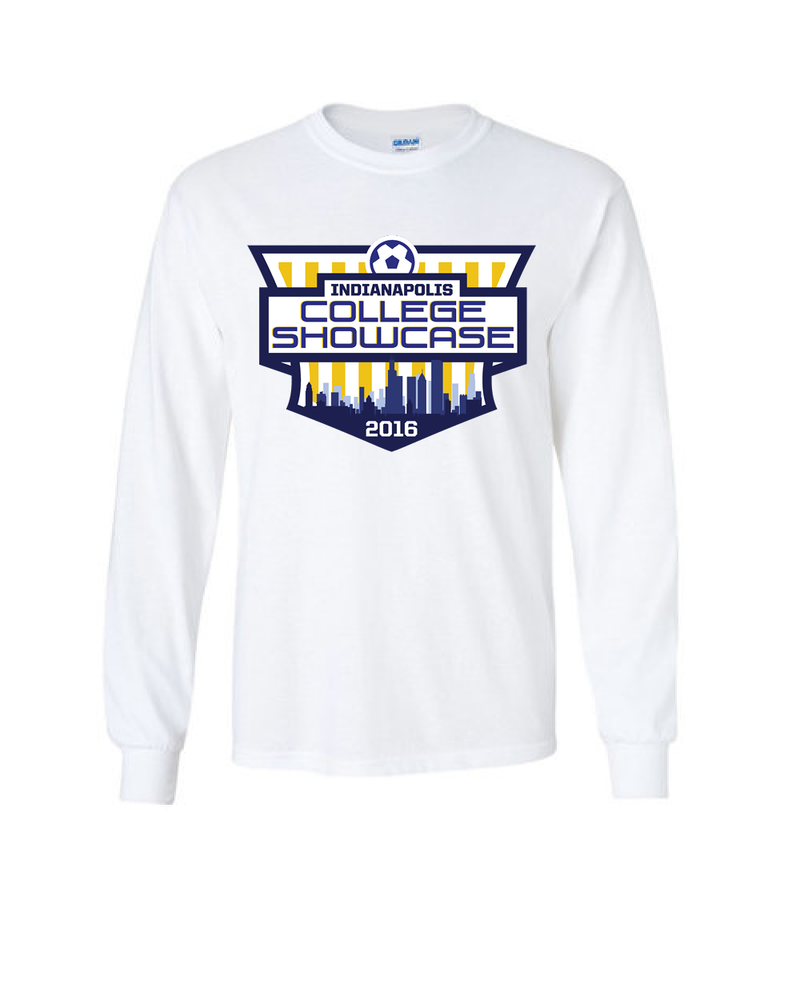 White Long-Sleeve Shirt IND College Showcase