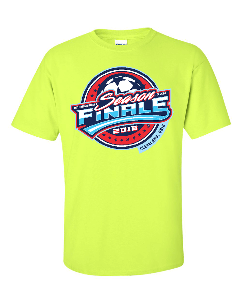 Neon Green T-Shirt CASA Season Finale