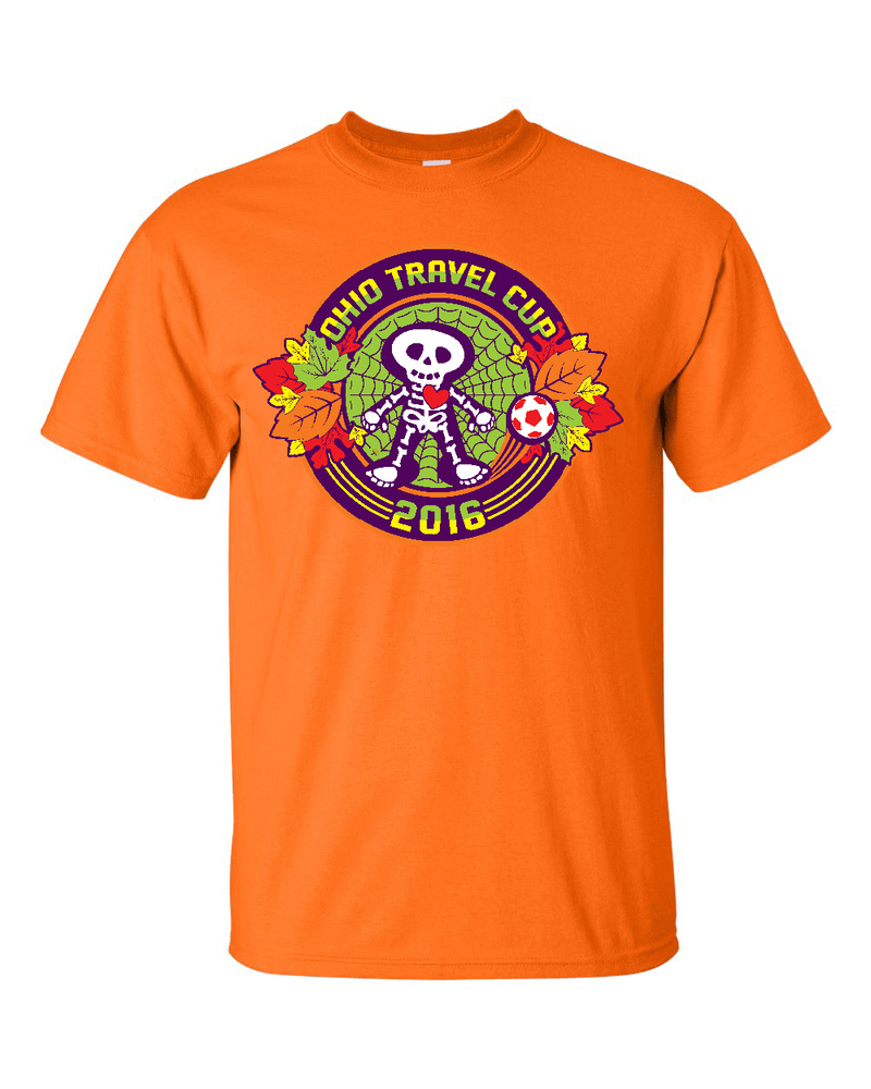 Neon Orange T-Shirt Ohio Travel Cup
