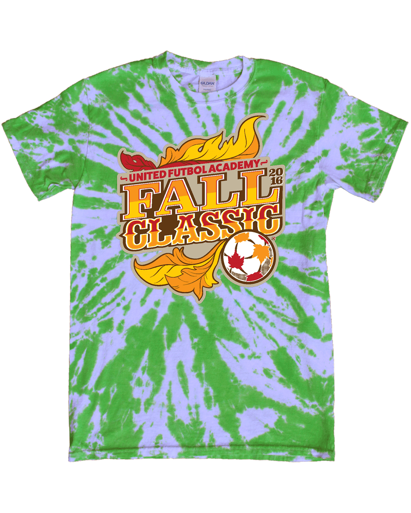 Green Tie-Dye T-Shirt UFA Fall Classic