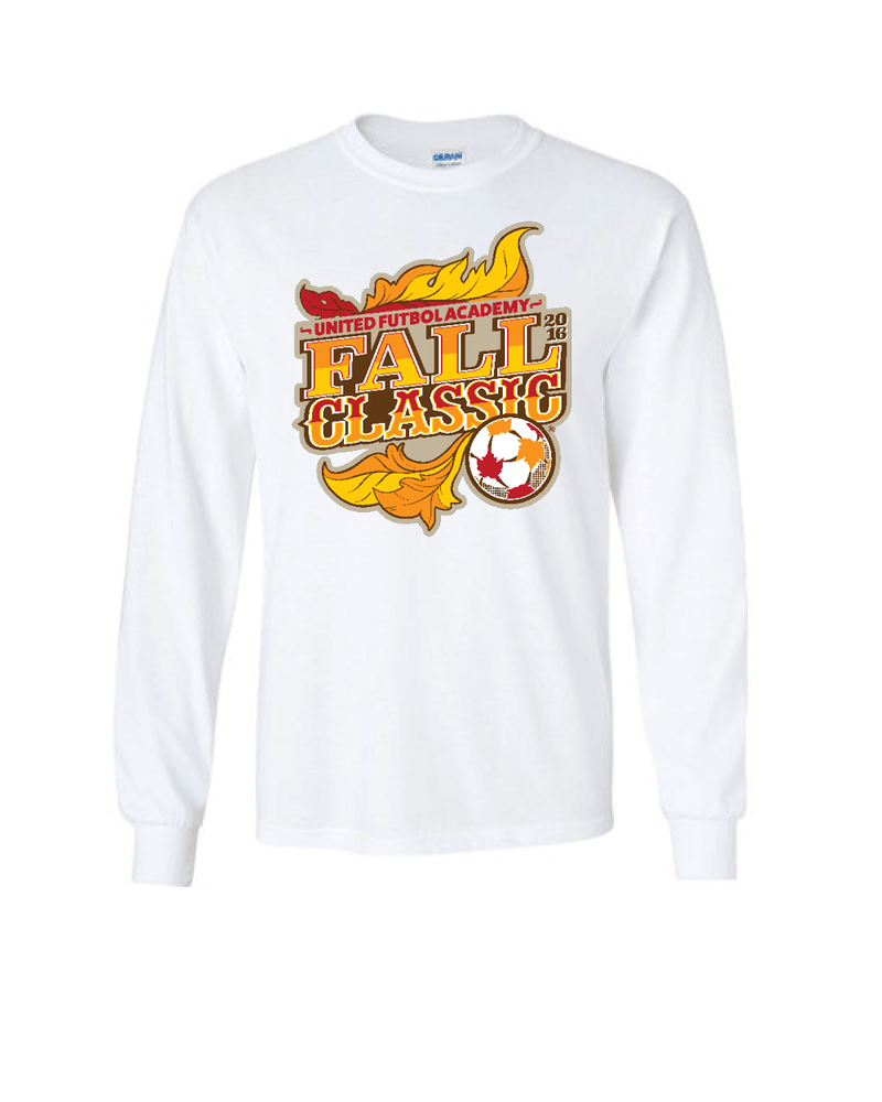 White Long-Sleeve Shirt UFA Fall Classic