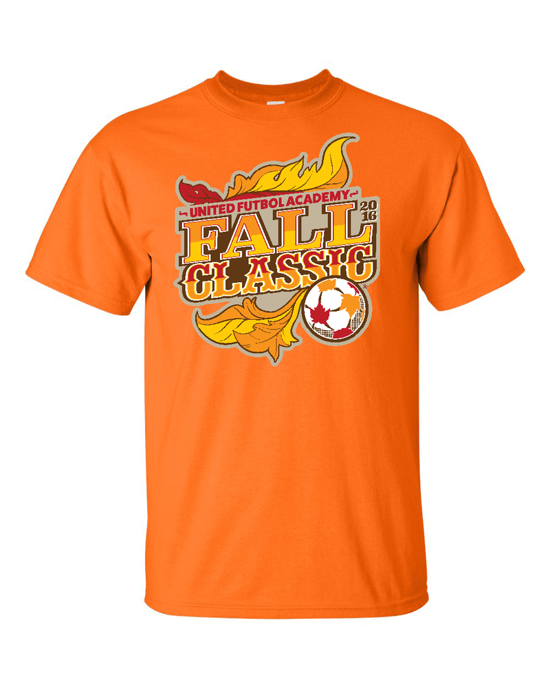 Neon Orange T-Shirt UFA Fall Classic