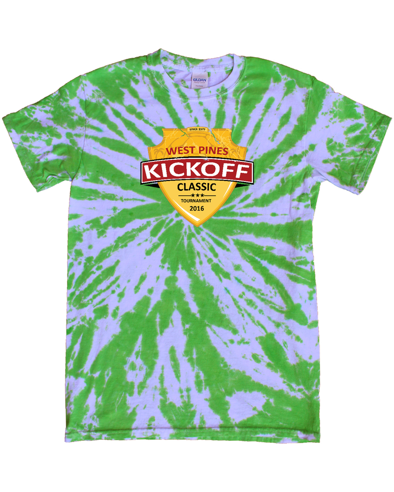 Green Tie-Dye T-Shirt West Pines