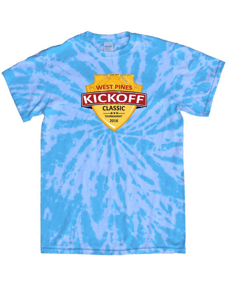 Blue Tie-Dye T-Shirt West Pines