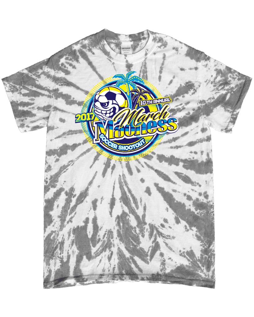 Grey Tie-Dye T-Shirt March Madness