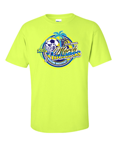 Neon Green T-Shirt March Madness