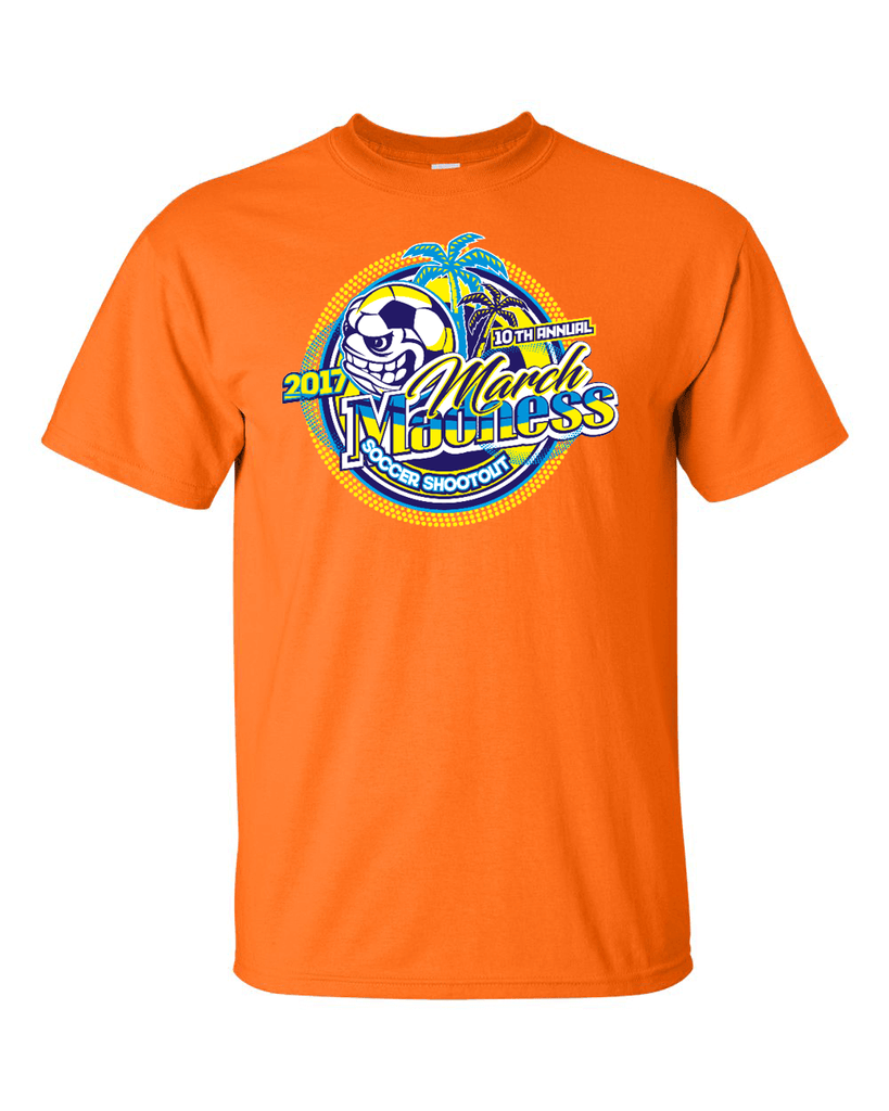 Neon Orange T-Shirt March Madness