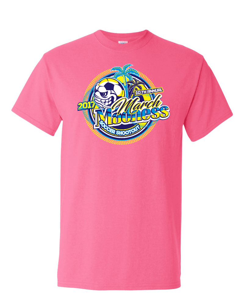 Neon Pink T-Shirt March Madness
