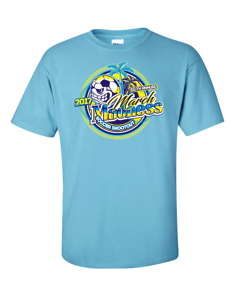 Sky Blue T-Shirt March Madness
