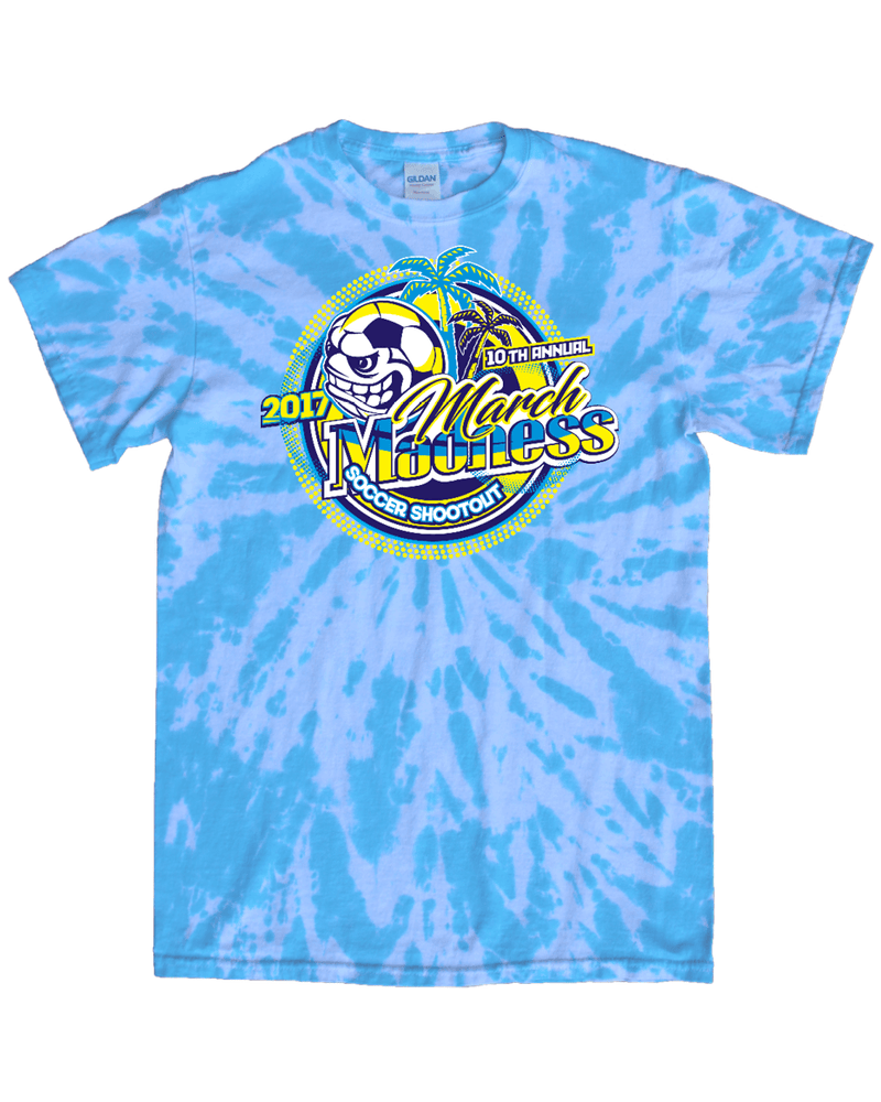 Blue Tie-Dye T-Shirt March Madness