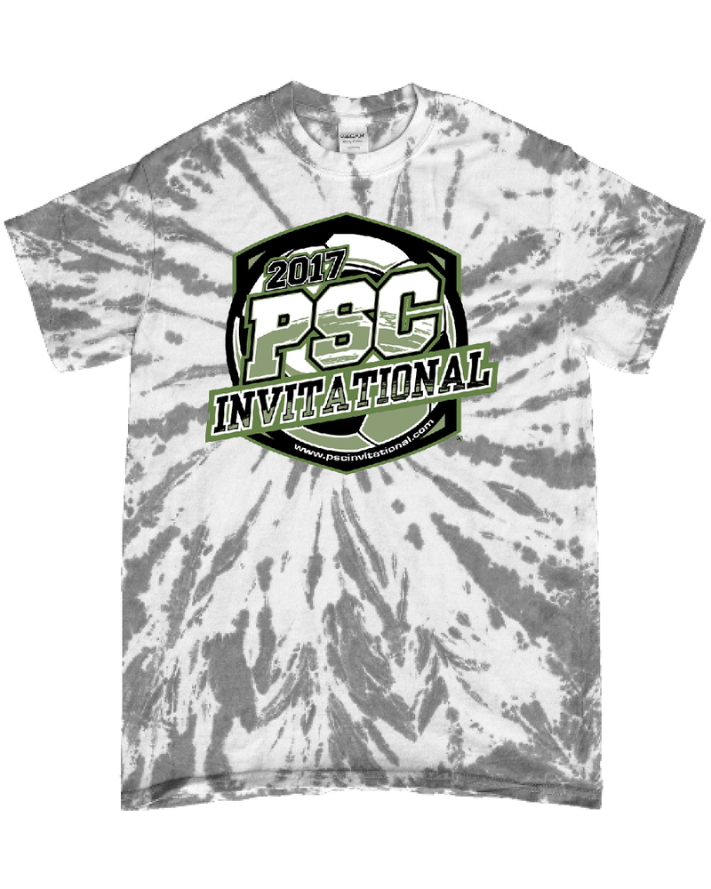 Grey Tie-Dye T-Shirt PSC Invitational