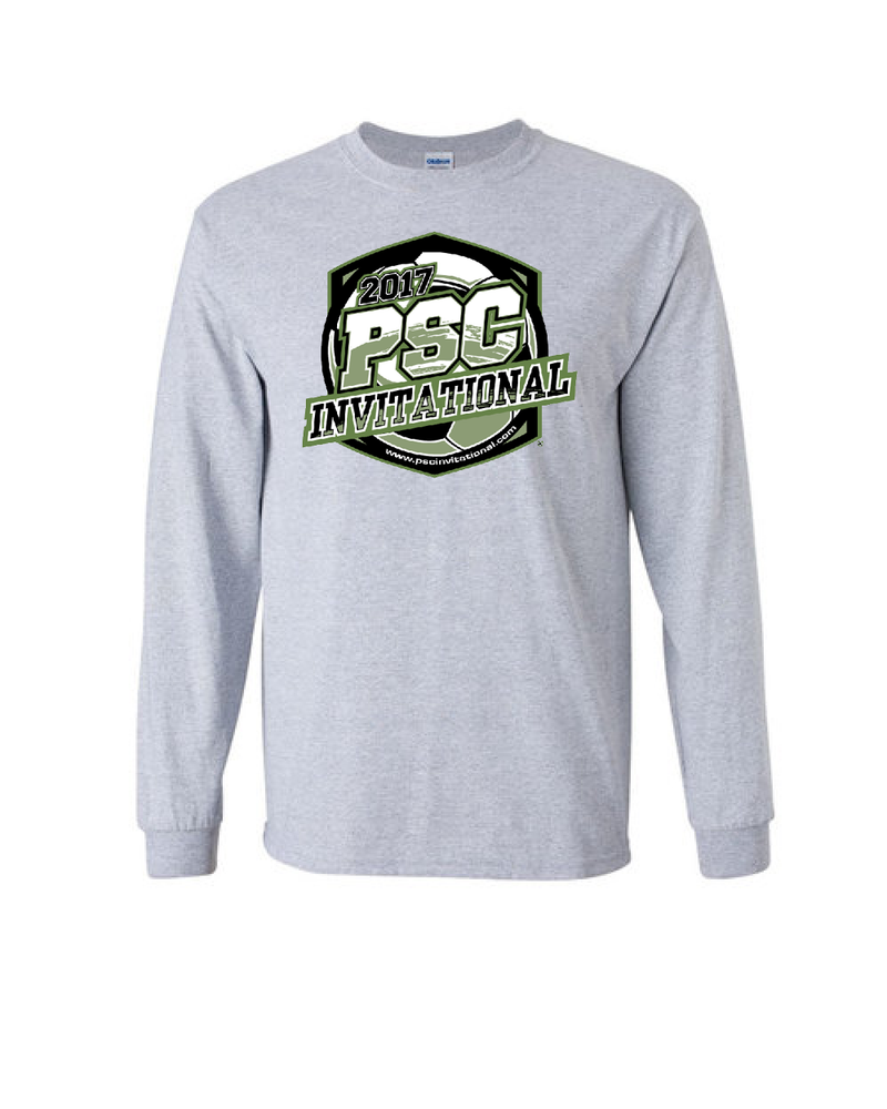 Grey Long-Sleeve Shirt PSC Invitational