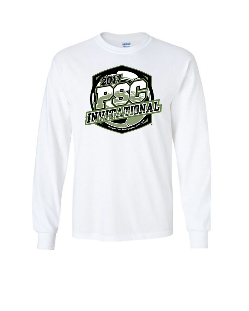 White Long-Sleeve Shirt PSC Invitational