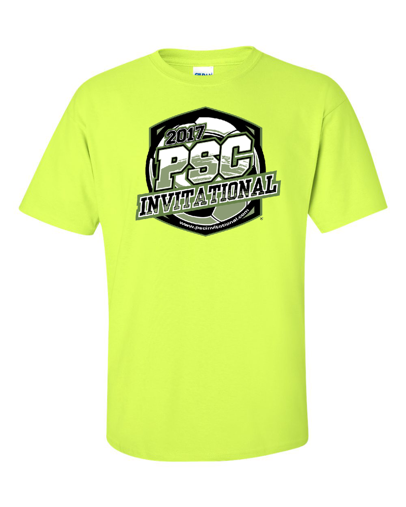 Neon Green T-Shirt PSC Invitational