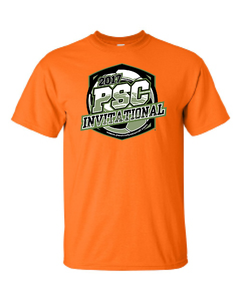 Neon Orange T-Shirt PSC Invitational