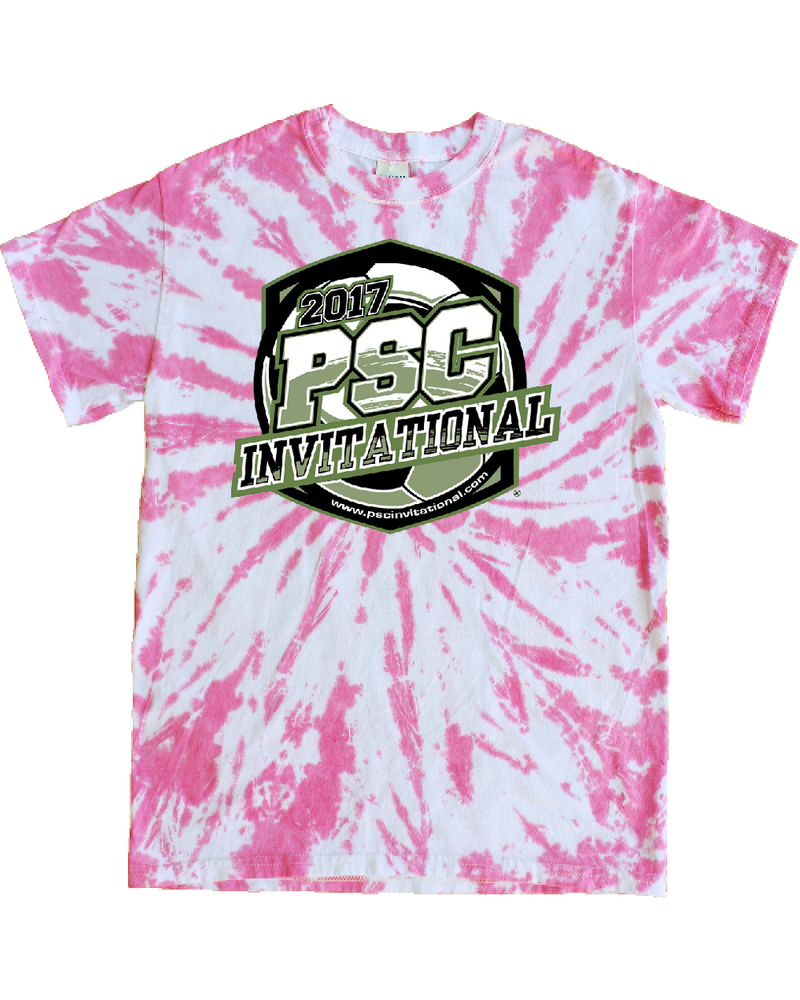Pink Tie-Dye T-Shirt PSC Invitational