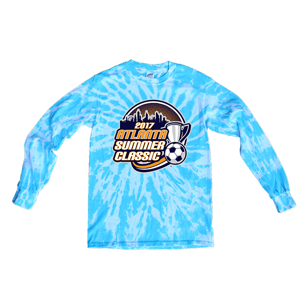 Blue Tie-Dye Long-SleeveAtlanta Summer Classic