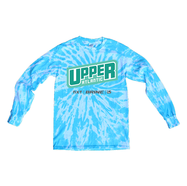 Blue Tie-Dye Long-SleeveUpper Atlantic
