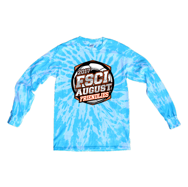 Blue Tie-Dye Long-SleeveFSCI August Friendlies