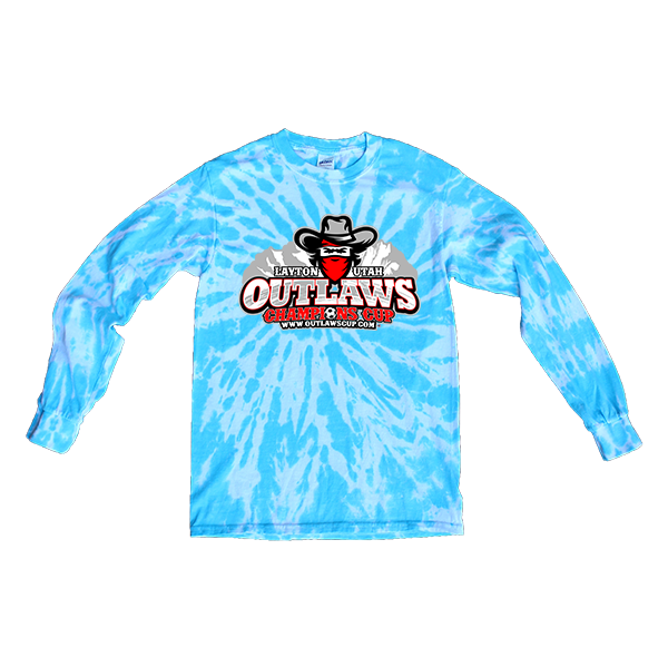 Blue Tie-Dye Long-SleeveOutlaws Champions Cup