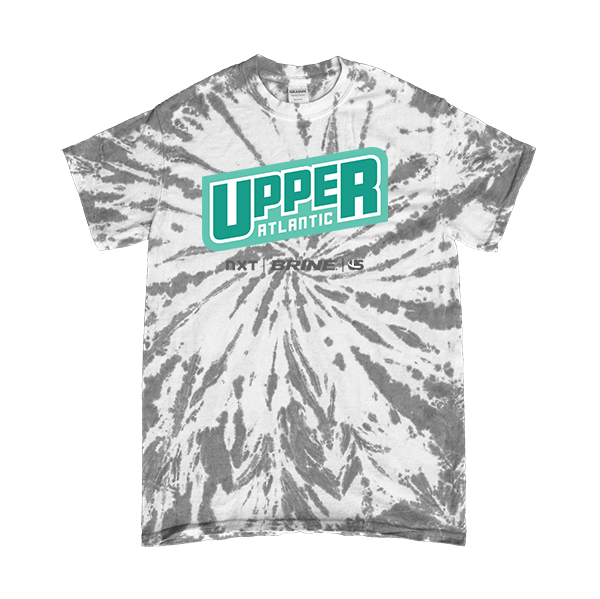 Gray Tie-Dye T-Shirt Upper Atlantic