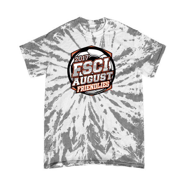 Gray Tie-Dye T-Shirt FSCI August Friendlies