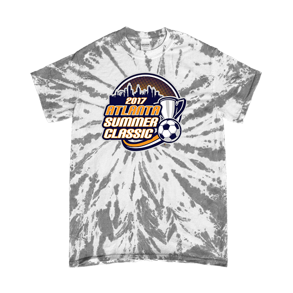 Gray Tie-Dye T-Shirt Atlanta Summer Classic