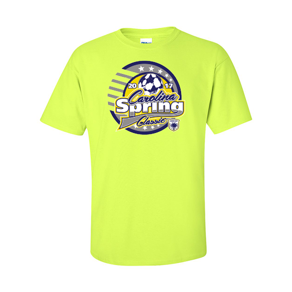 Neon Green T-Shirt Carolina Spring Classic