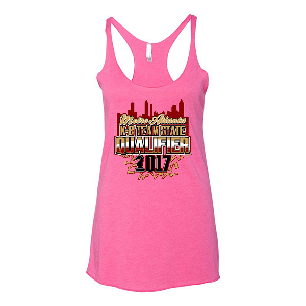 Premium Hot Pink Ladies Tank Chess Metro Atlanta