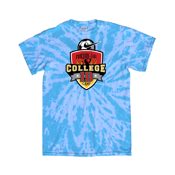 Blue Tie-Dye T-Shirt College ID Camp