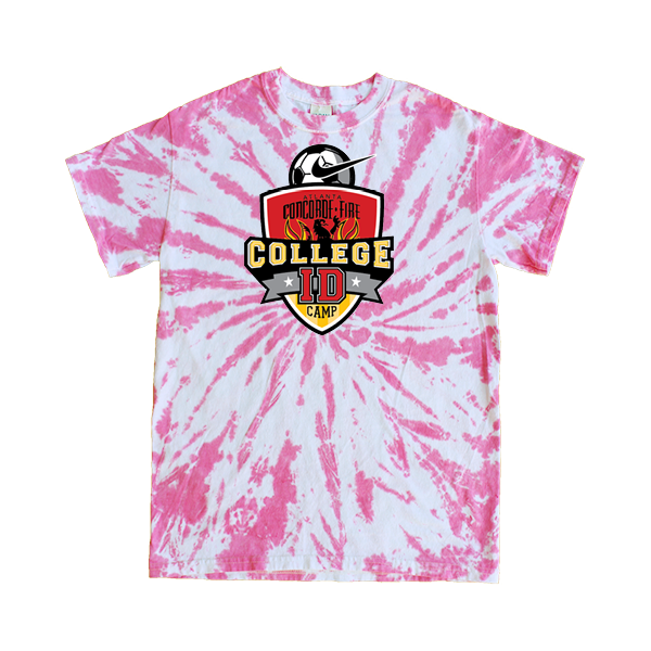 Pink Tie-Dye T-Shirt College ID Camp