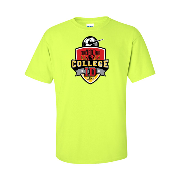 Neon Green T-Shirt College ID Camp