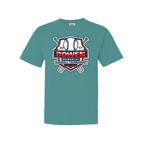 Comfort Colors Seafoam T-Shirt Bowen Memorial Tournament