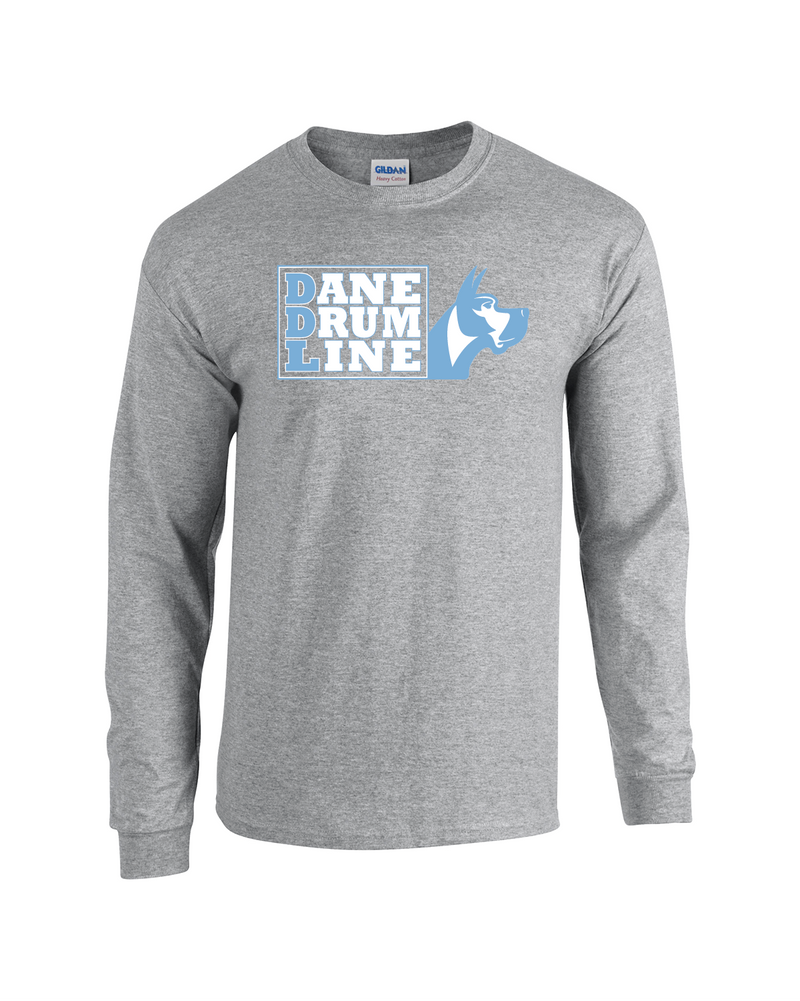 Long Sleeve Dane Drum Line