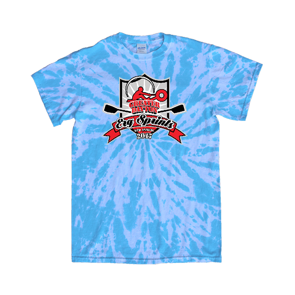 Blue Tie-Dye T-Shirt ERG Sprints