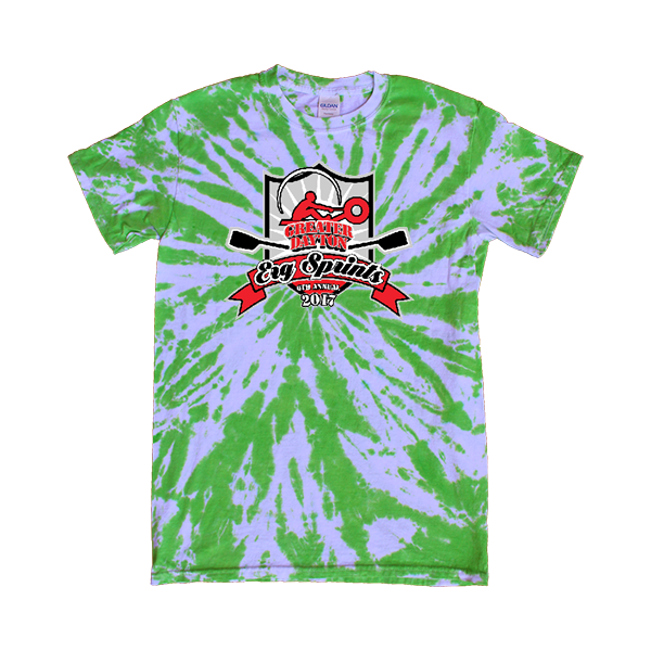 Green Tie-Dye T-Shirt ERG Sprints
