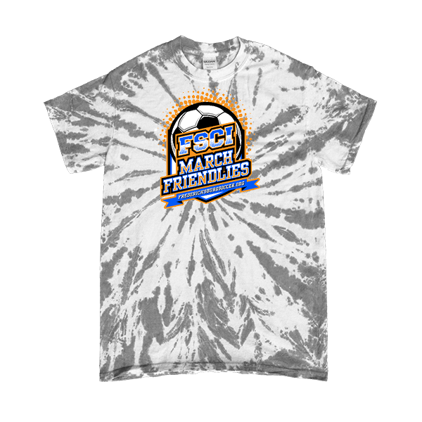 Grey Tie-Dye T-Shirt FCSI March Friendlies