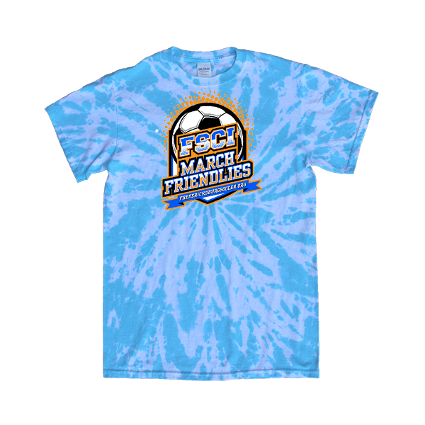 Blue Tie-Dye T-Shirt FCSI March Friendlies