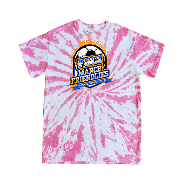Pink Tie-Dye T-Shirt FCSI March Friendlies