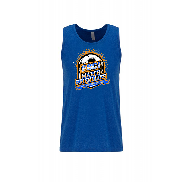 Premium Royal Mens Tank FCSI March Friendlies