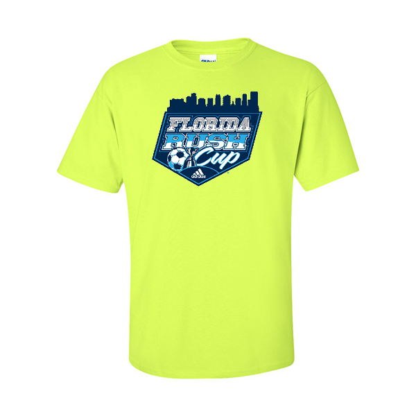 Neon Green T-Shirt Florida Rush Club
